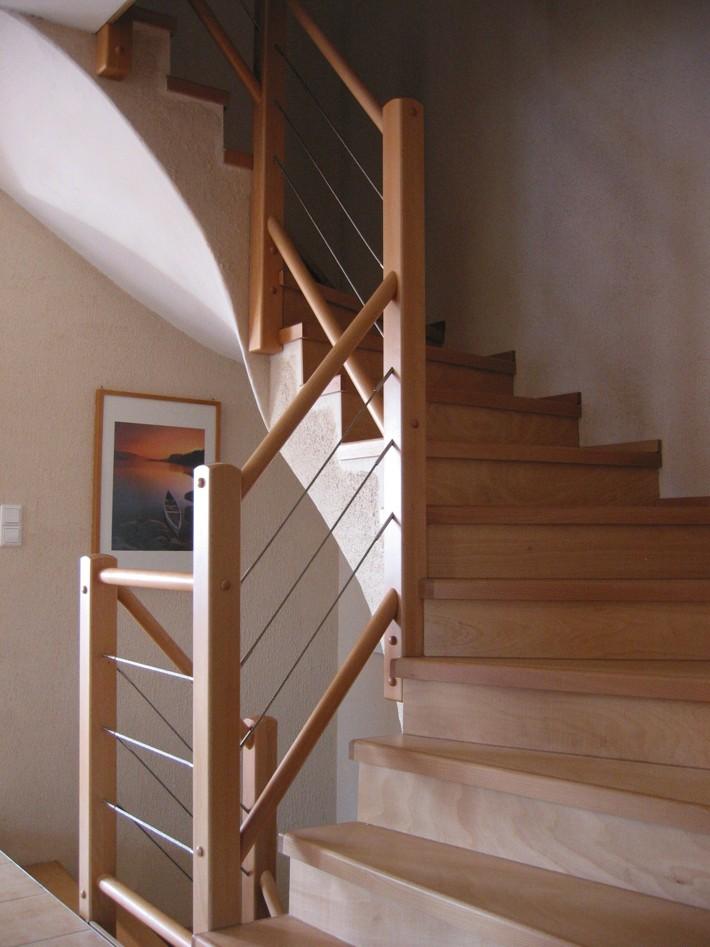 MUlltonnenbox Aus Holz Und Edelstahl ~ Treppengeländer Aus Holz Und Edelstahl Pictures to pin on Pinterest